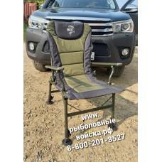 Кресло карповое с регулируемыми ножками и спинкой